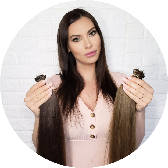 The most natural, lightweight hair extensions on the market. Suitable for even the thinnest hair and those wanting hair extensions that are scientifically proven to not damage your real hair.