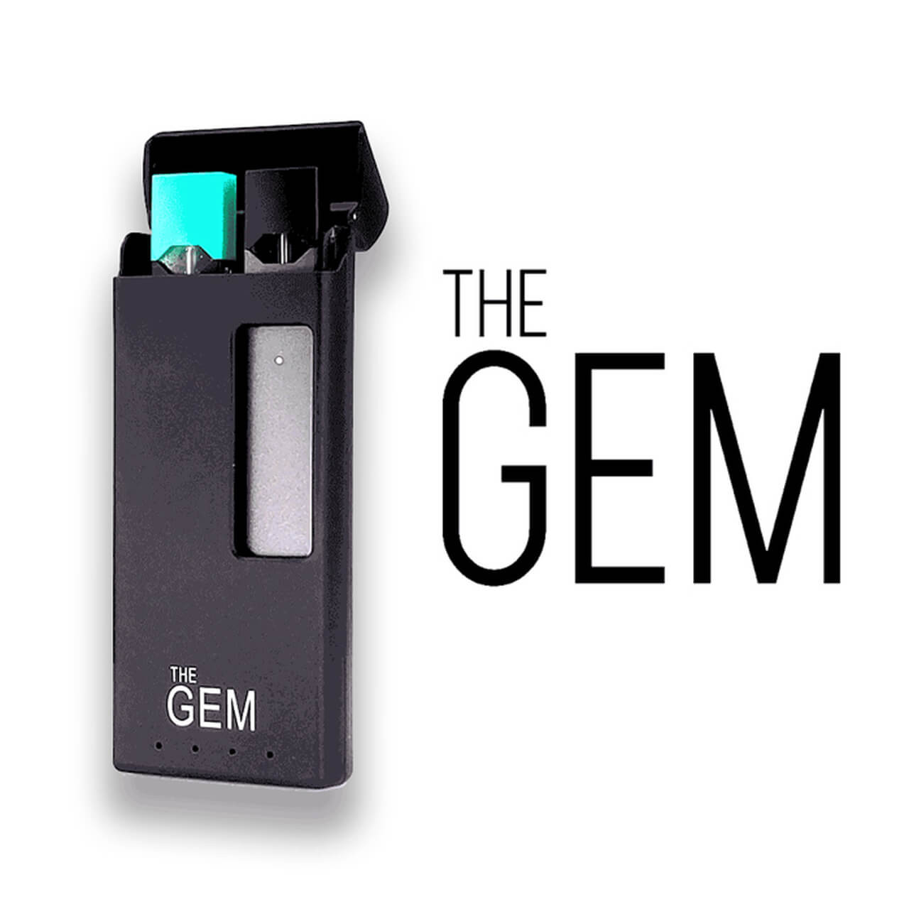 GEM Portable Charger, JUUL Charging Case - JUUL Battery Case