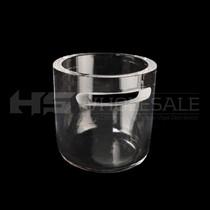 30mm Quartz Bowl Slitted Insert Bucket (MSRP $3.00)