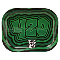 Small Metal 420 Rolling Tray (MSRP $10.00)