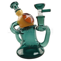 "6"" Eye Ball Recycler Rig - with 14M Bowl & 4mm Banger (MSRP $70.00)"