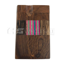 "4"" Fancy Acrylic Wood Dugout (MSRP $10.00)"