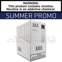 JUUL | Basic Kit | Silver | Display of 8 | SUMMER PROMO