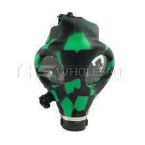 Checkered Design Multi Color  Gas Mask Kit (MSRP $50.00)