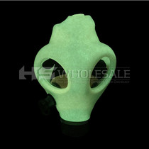Glow In The Dark Gas Mask Set (MSRP $55.00)