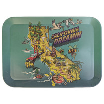 """Biodegradable Bamboo Fiber Tray - Small 7.5"""" x 6"""" - Multiple Designs (MSRP $20.00)"""