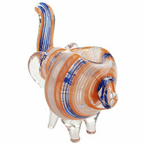 Individual Assorted Elephant Inside Out Work Hand Pipe (MSRP $20.00)