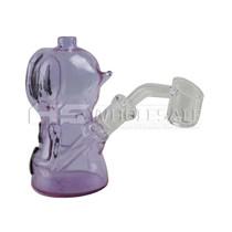 "5"" Hoodie Man Mini Rig - with 4mm 14M Banger (MSRP $60.00)"