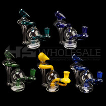 "6"" Mini Recycler Rig - with 4mm 14M Banger (MSRP $50.00)"