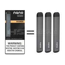 Nano - Disposable 1.5ml 4.9% - 3 Pack (MSRP $6.99ea)