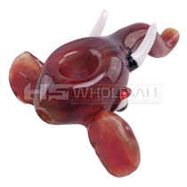 "6"" Elephant Head Spoon Hand Pipe (MSRP $40.00)"