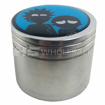 42mm 4Part Grinder with Assorted Sticker (MSRP $15.00)