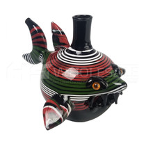 """Pufferfish Water Pipe Rig 5"""" - with 4mm 14M Banger (MSRP $70.00)"""