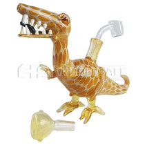 Dinosour Water Pipe Rig - with 14M Bowl & 4mm Banger (MSRP $75.00)