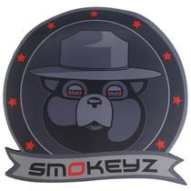 """Smokeyz - 12"""" Rubber Logo Mat (MSRP $25.00)"""