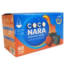 Coconara Coconut Shell Charcoal - 60pcs (MSRP $15.00)