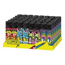 Clipper - Jet Flame Lighter - Display of 48 (MSRP $2.00ea)