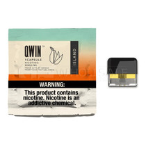 Nicotine Capsules for QWIN Module By QWIN 50MG *Drop Ship* (MSRP $4.99)