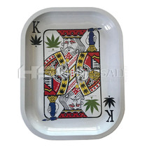 "7"" x 5.5"" Metal Rolling Trays By Kill Your Culture *Drop Ship* (MSRP $12.99)"