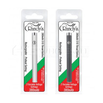 Variable Voltage Pen Battery W/ Charging Cord By Randy's 380mAh (Display of 20) *Drop Ship* (MSRP $12.99 Each)