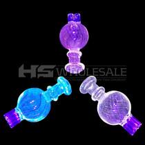 UV Color Triple Barrel Bubble Carb Cap (MSRP $25.00)