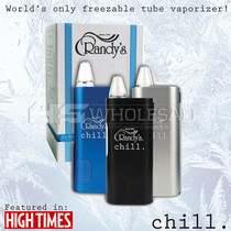 Chill - Freezable Tube Vaporizer By Randy's *Drop Ship* (MSRP $120.99)