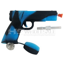 Stratus - 2 in 1 Silicone Gun Pipe (MSRP $45.00)