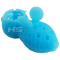 Stratus - Silicone Honey Bee Hand Pipe with Bowl Saver (MSRP $20.00)