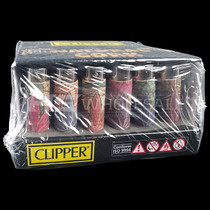 Clipper - Lighter With Cover - All Styles - Display of 30 (MSRP $2.00ea)