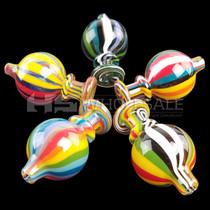 UV Color Swirl Bubble Carb Cap (MSRP $25.00)