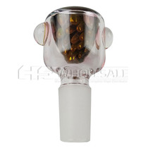 14mm Gold Fumed Air Bubble Bowl (MSRP $15.00)