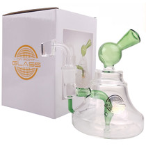 "On Point Glass - 7"" Bell Shaped Banger Hanger Box Set - with 4mm 14M Banger (MSRP $85.00)"