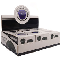 """Chromium Crusher - 2.75"""" CNC Heavy Solid Bling Top 4Part Grinder  - Display of 6 (MSRP $25.00ea)"""