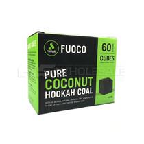 Fumari Pure Coconut Hookah Coal - 1/2 KG - Pack Of 60 Pieces (MSRP $8.00)
