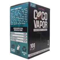 Vapor Hookahs - COCO Vapor Coconut Coals - Flats 108pcs - 1 Kilo (MSRP $10.00)