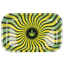 "11.5""X 7.5"" Metal Rolling Tray - Multiple Designs (MSRP $10.00)"