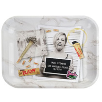 "RAW - Rolling Tray Jada Stevens Design 13 1/2"" x 11' - Large (MSRP $17.00)"