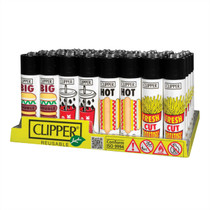 Clipper - Original Lighter - New Styles - Display of 48 (MSRP $2.00ea)
