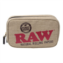 RAW - Smell Proof Smokers Pouch - Full Ounce (MSRP $45.00)