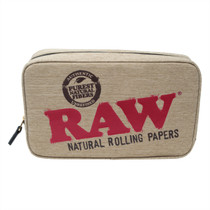 RAW - Smell Proof Smokers Pouch - Quarter  Pounder (MSRP $50.00)