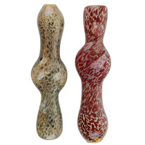 "3"" Candy Dot Work Chillum Hand Pipe - 2 Pack (MSRP $20.00ea)"