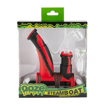 Ooze - Steamboat Silicone Bubbler (MSRP $50.00)
