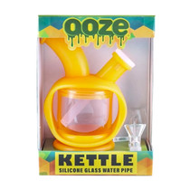 Ooze - Kettle Silicone Bubbler Water Pipe (MSRP $50.00)