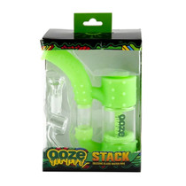 Ooze - Stack Silicone Bubbler Water Pipe (MSRP $50.00)