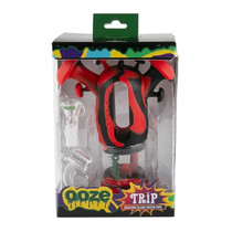 Ooze - Trip Pipe Silicone Bubbler Water Pipe (MSRP $50.00)