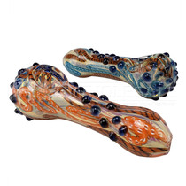 "4"" Spiral Spike Work Spoon Hand Pipe - 2 Pack (MSRP $30.00)"