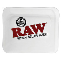 RAW - Large Glass Rolling Tray (MSRP $50.00)