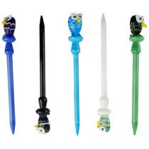 Assorted Color Owl Dabber - 5 Pack (MSRP $25.00ea)