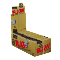 RAW - Classic 1 1/2 Rolling Papers - Display of 25 (MSRP 3.00ea)