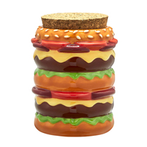 Roast & Toast Stash Jar - Cheeseburger (MSRP $20.00)